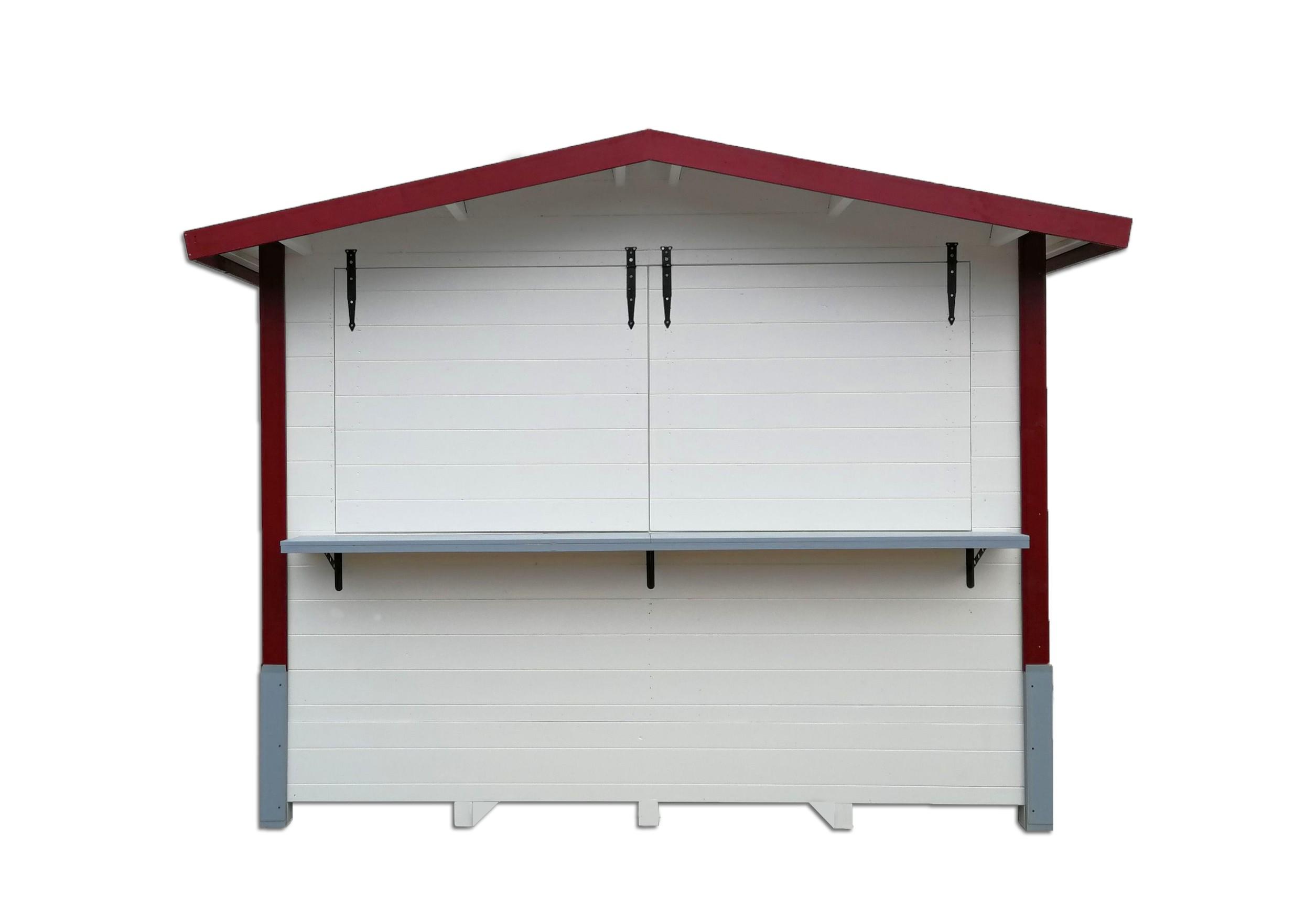 drvena kućica prednja strana